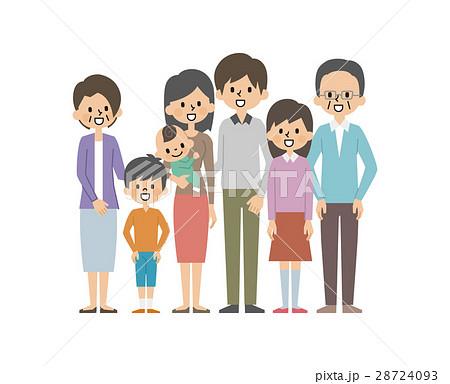 三世代家族【シンプルキャラ・シリーズ】 28724093