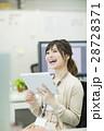 ビジネスウーマン 笑顔 女性の写真 28728371
