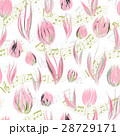 Bright seamless pattern with oil painted delicate 28729171