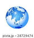 地球 地球儀 光のイラスト 28729474