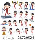 中学生 高校生 運動のイラスト 28729524