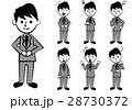 表情 人物 男のイラスト 28730372