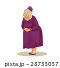 おばあさん おばあちゃん お婆さんのイラスト 28733037