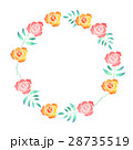 バラの花の輪 28735519