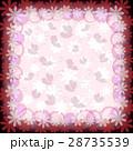 背景 お花 フラワーのイラスト 28735539