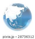 地球 世界 地球儀のイラスト 28736312