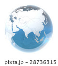 地球 世界 地球儀のイラスト 28736315