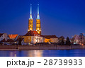 Architecture of the old town in Wroclaw, Poland. 28739933