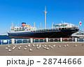 横浜港 氷川丸 貨客船の写真 28744666