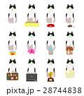 動物 猫 はちわれのイラスト 28744838
