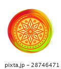 Beautiful colorful mandala. Design element 28746471