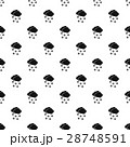 Cloud and snow pattern, simple style 28748591