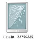 壊れた 壊れる スクリーンのイラスト 28750885