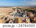 バチカン サン・ピエトロ広場とローマ市街の景色 28764305