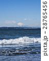 千葉県新舞子海水浴場からの富士山 28765456