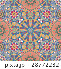 Seamless round pattern for printing on fabric or 28772232