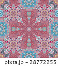 Pink Mandala Background for greeting card 28772255