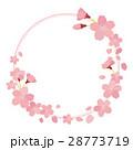 桜 ベクター フレームのイラスト 28773719