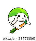 うさぎ ウサギ 兎のイラスト 28776605