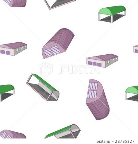 Warehouse pattern, cartoon styleのイラスト素材 [28785327] - PIXTA