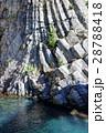 ヒリゾ浜の柱状節理 28788418