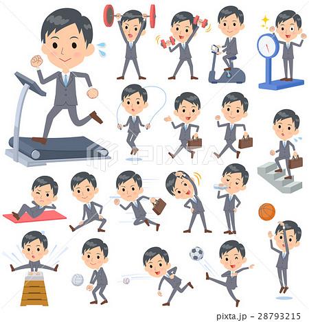 Gray Suit Businessman Sports & exercise 28793215