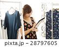 店員 女性 販売員 スタッフ ファッション アパレル バイヤー 28797605
