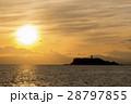 江ノ島 海 海岸の写真 28797855
