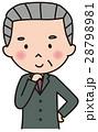 ベクター 閃く 社長のイラスト 28798981