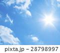 太陽と青空 28798997