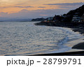 鎌倉 稲村ヶ崎 七里ガ浜 夕景 28799791