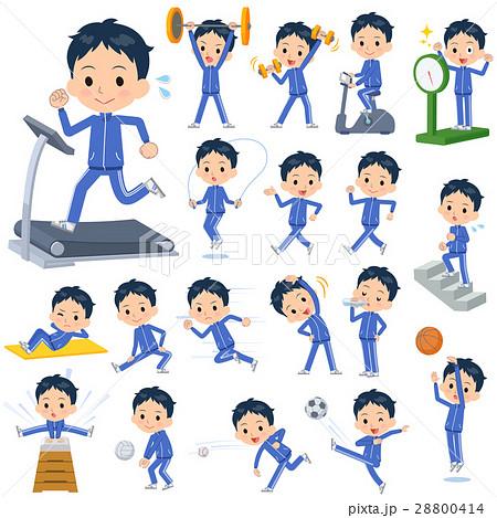 school boy blue jersey Sports & exercise 28800414
