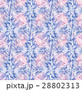 Watercolor crystals pattern 28802313