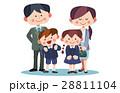 小学生 親 子供のイラスト 28811104