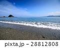 ビーチ 海岸 海の写真 28812808