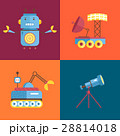 Space Cartoon Vector Icons Collection 28814018