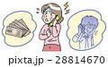 女性 詐欺 オレオレ詐欺のイラスト 28814670