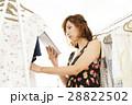 店員 女性 販売員 タブレット アパレル スタッフ ファッション バイヤー アルバイト 28822502