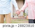絆 握る シニアの写真 28823810