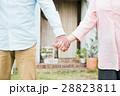 絆 握る シニアの写真 28823811