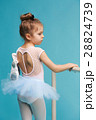 バレリーナ バレエ 女の子の写真 28824739