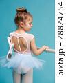 バレリーナ バレエ 女の子の写真 28824754