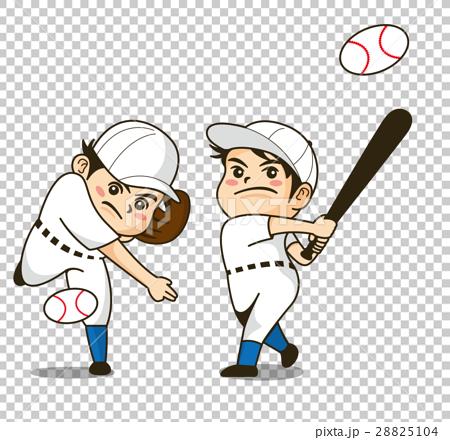 pitcher, batter, baseball 28825104