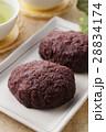 おはぎ 和菓子 あずきの写真 28834174