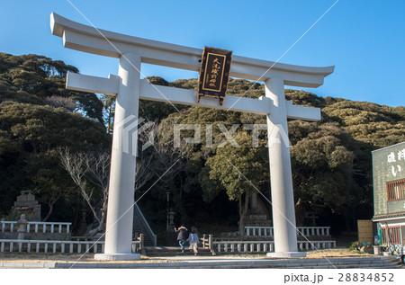 茨城 大洗磯前神社の大鳥居 28834852