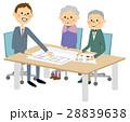 人物 高齢者 営業マンのイラスト 28839638