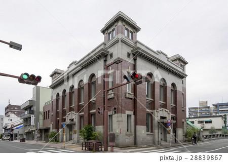 熊本市中央区中唐人町の街並み登録有形文化財と明十橋めいじゅうばし 28839867