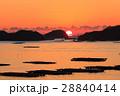 朝日 日の出 虫明の写真 28840414
