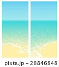 ビーチ 島 浮かぶ島のイラスト 28846848