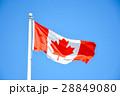Waving Canadian flag in Ottawa 28849080